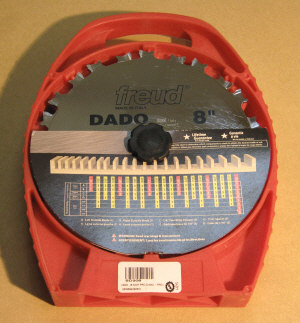 Dado saw blades - Freud SD208 8