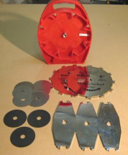Dado saw blades - Freud SD208 set contents.