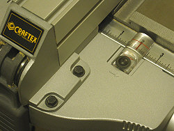 craftex ct146 - fence view of cursor and tape.