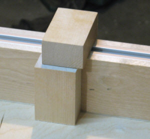 Crosscut sled - making a 