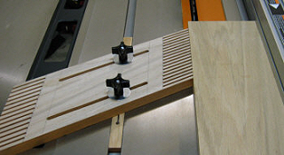 Making Featherboards Router Table