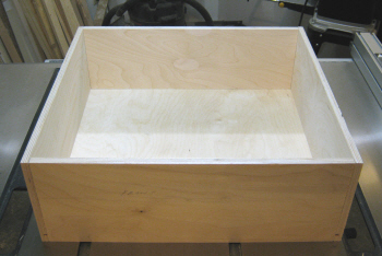 Pocket hole joinery - A dry fit will show any problems before assembly.