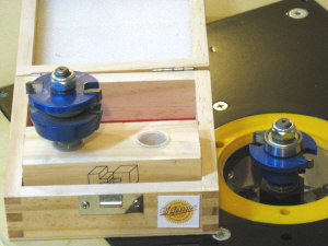 Router speed control - shaker door router bits.