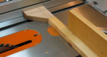 How to make a magnetic table saw stop block