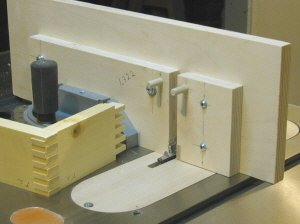 Box joint jig.