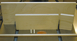 Box joint jig - jig parts.