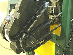 Craftex ct146 - Machined pulleys and poly-v belt.