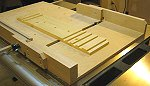 Dado jig for the crosscut sled.