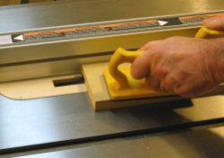Dado blade how to set up and install stacked dado sets dado blade making a test cut in some scrap mdf greentooth Images
