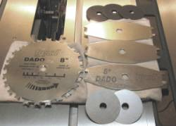 Dado blade how to set up and install stacked dado sets dado blade freud sd208 stacked dado set greentooth Choice Image