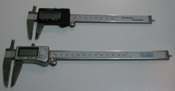 6 and 8 inch digital calipers.