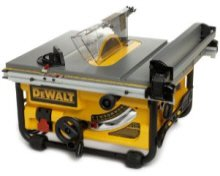 DW745 portable table saw.