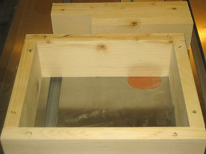 Making box joints - numbering the corners.