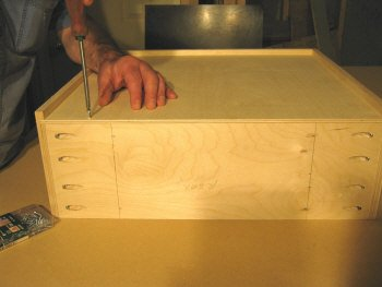 Pocket Hole Joinery Building Drawer Boxes Using The Kreg