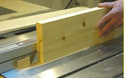 Resawing lumber - repeat the same steps for the next board.